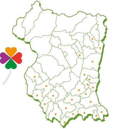 Cartina Veneto Comuni.Comuni Ambiente Servizi